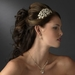 Headpiece 8349 Light Gold Clear
