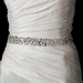 Rhinestone & Glass Bead Sash Belt 290