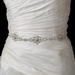Clear Rhinestone Belt 299 with Ribbon