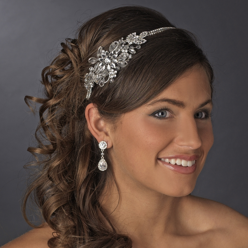 Vintage Side Bridal Headpiece Headband HP 613 d58570d2c34