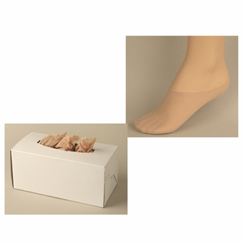 Disposable Foot Socks (Peds) Try On Footies