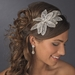 Silver Flower Side Accented Headpiece 656