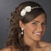 Charming Ivory Side Accented Flower Headpiece 636***Discontinued***