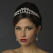 * Silver Clear CZ Crystal Bridal Tiara Headpiece 928 (0 in stock)