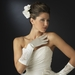 Embellished Satin Bridal Formal Glove - GL 1017 E