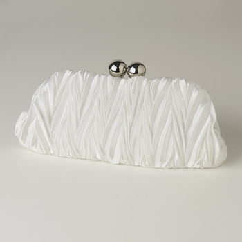 Cream Satin Evening Bag 317