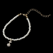 Child's Gold Ivory Pearl Bracelet 402