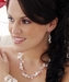 Lariat Style Freshwater Pearl & Glazed Glass Necklace N 8193