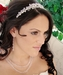 Swarovski Crystal Bridal Necklace Earring & Tiara Set 8143
