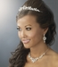 Swarovski Crystal Bridal Necklace Earring & Tiara Set 8310