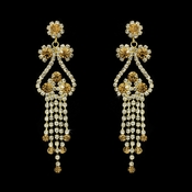 Earring 1115 Gold Topaz ***Discontinued***