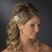 Stunning Crystal Brooch Hair Accent Comb 8217