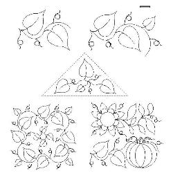246 Autumn Harvest Leaves Set
