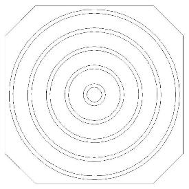 308 Double Concentric Circle Set