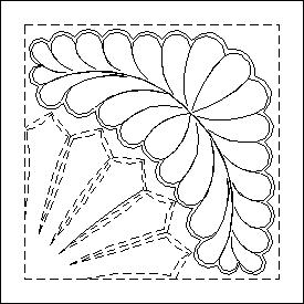 2291 Feather with Outline