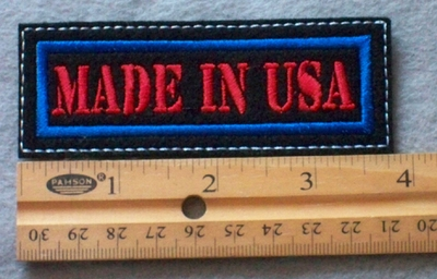 904 L - Made In USA -  Embroidery Patch