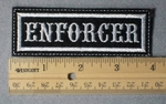 951 L - Enforcer -  Embroidery Patch