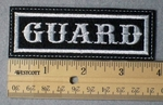 952 L - Guard -  Embroidery Patch