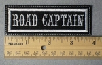 961 L - Road Captain -  Embroidery Patch
