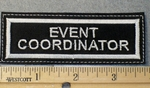 1556 L - Event Coordinator - Embroidery Patch