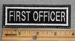 1600 L - First Officer - Embroidery Patch