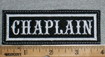 1635 L - Chaplain - Embroidery Patch
