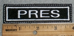 1659 L - Pres - Embroidery Patch