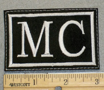 2068 L - MC - 3 Inch - Embroidery Patch