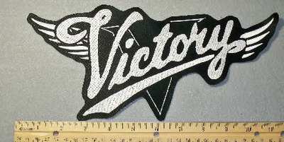 1879 L - Victory With Wings - Back  Patch -  Embroidery Patch