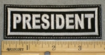 2063 L - President - Embroidery Patch