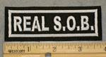 2050 L -Real S.O.B. - Embroidery Patch