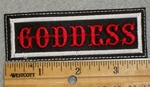 1527 L - Goddess - Embroidery Patch