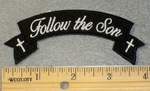 1807 G- Follow The Son - Mini Rocker - Embroidery Patch