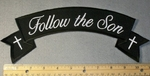1823 G - Follow The Son - Top Rocker - Embroidery Patch
