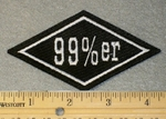 1812 L - 99 %er Diamond - Embroidery Patch