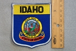 IDAHO STATE FLAG SHIELD - EMBROIDERY PATCH