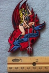 894 N - Miss Fortune Embroidered Patch