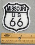 779 L - Route 66 Missouri Sign Embroidered Patch
