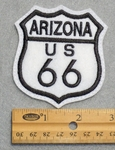 722 L - Arizona Route 66 Sign Embroidered Patch
