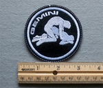 1096 L - Gemini - Zodiac Sign - Sexual Position - Embroidery Patch