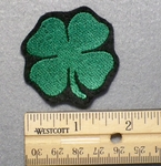 1010 L - Four Leaf Clover - Embroidery Patch