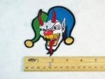 207 N - DEVIL JESTER - EMBROIDERY PATCH