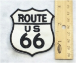 220 N - ROUTE 66 - EMBROIDERY PATCH - SMALL