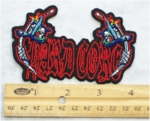 223 N - HARD CORE TATTOO NEEDLES - EMBROIDERY PATCH