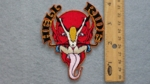 260 N - HELL RIDE - EMBROIDERY PATCH - SMALL