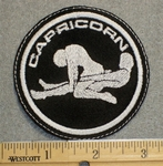 1488 L - Capricorn  - Zodiac Sign -Sexual Position - Embroidery Patch