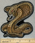 1842 N - Cobra Snake - Embroidery Patch
