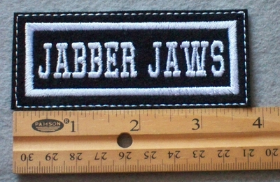 899 L - Jabber Jaws Embroidered Patch