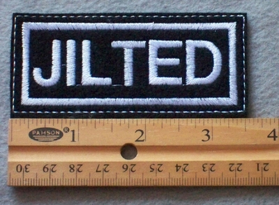 900 L - Jilted Embroidered Patch