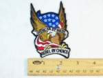 568 N - AMERICAN BY BIRTH REBEL BY CHOICE PATCH